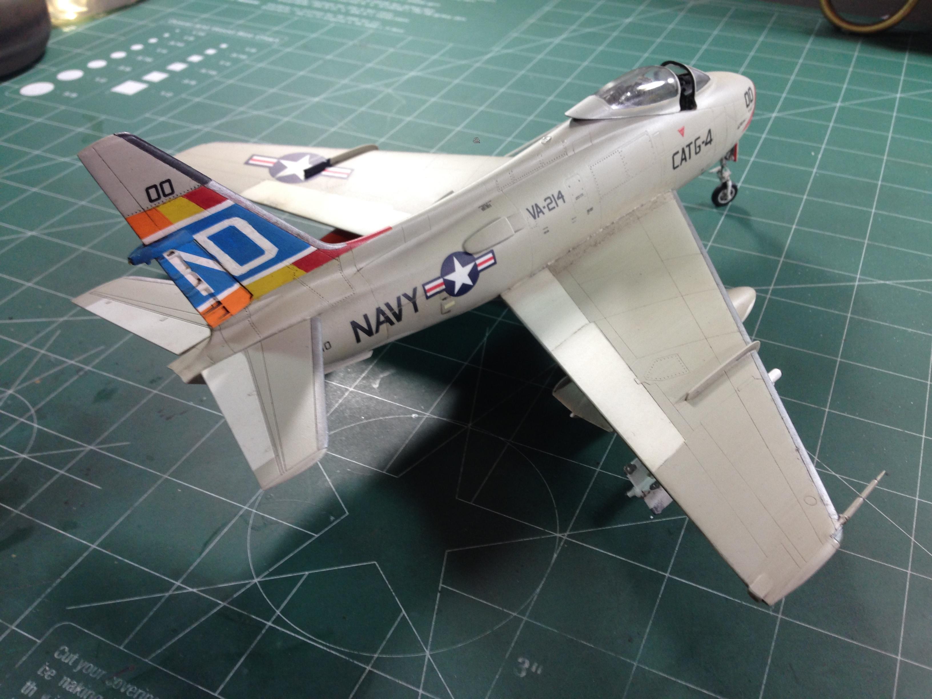 FJ4B Fury Bravo